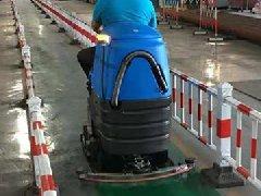 广西铝业公司采购拓成驾驶式洗地机