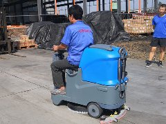 山东潍坊金顺翔机械厂采购拓成洗地机