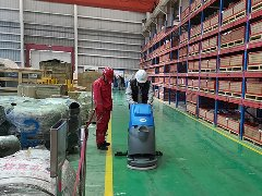 中国海洋石油工程引进拓成洗地机