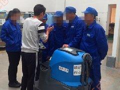 青岛即墨物业保洁公司采购拓成驾驶式洗地机