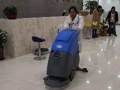 山东潍坊优特检测服务公司采购拓成洗地机