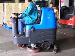 家家悦青岛物流仓储中心批量引进拓成洗地机