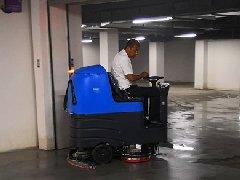 青岛天一仁和物业采购拓成驾驶式洗地机