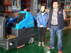 青岛万家和物业公司上门采购拓成洗地车