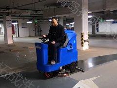 【容恩洗地机】青岛胶州祥龙花园停车场使用案