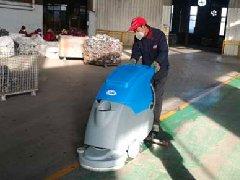 山东潍坊圣鑫管业在拓成进行采购清洁设备